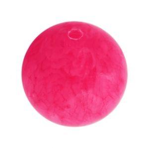 Полускъпоценни камъни - кръгло мънисто от розов ахат 10мм (8бр)