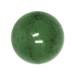Полускъпоценни камъни - кръгло мънисто от зелен авентурин 10мм (8бр)